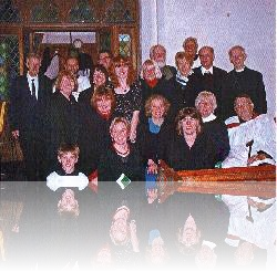 Great Oakley Choir at All Saints, Christmas 2008