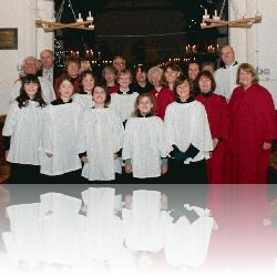 Great Oakley Choir at All Saints, Christmas 2011
